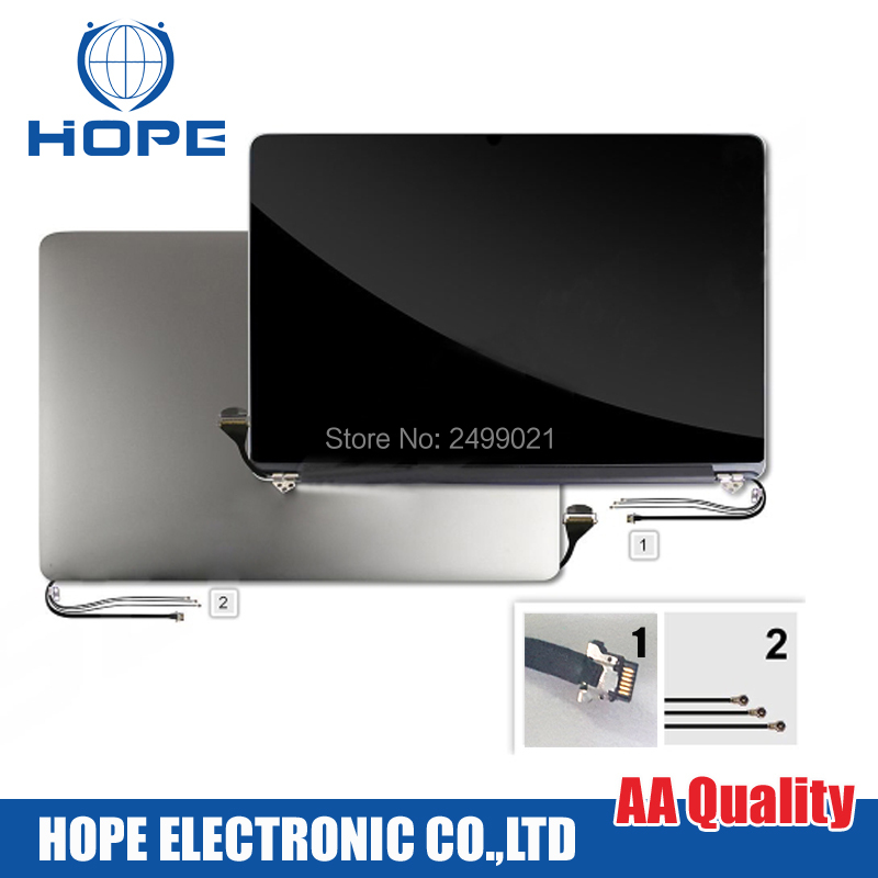 Mid 2012 Early 2013 Year LCD Screen Assembly For Apple MacBook Pro Retina 15 A1398 Full Screen With Aluminum Cover 95% New down daisy street