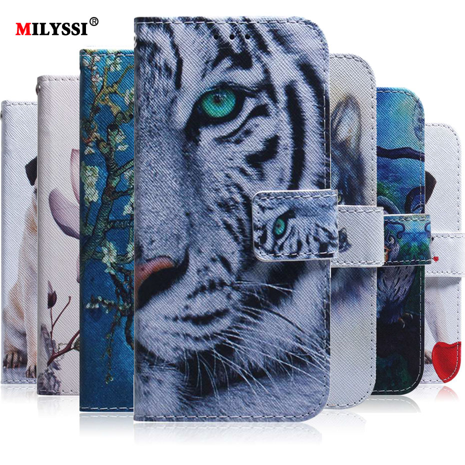 PU Leather Flip Case For Nokia 2.2 Case Phone Case For Nokia 2.2 Wallet Cover Painted Case image