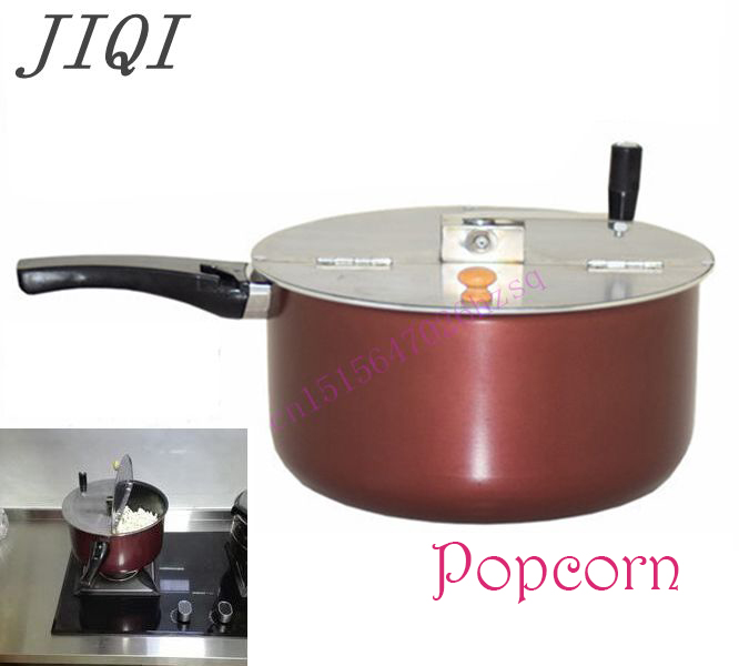 Hand popcorn maker  popcorn popper  for Gas cooker / Electromagnetic stove Commercial household pop 06 economic popcorn maker commercial popcorn machine with cart