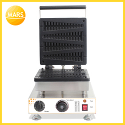 MARS Commercial CE Approved Lolly Waffle Maker Machine Stick Waffle Baker Christmas Tree Waffle Machine in Kitchen Equipment