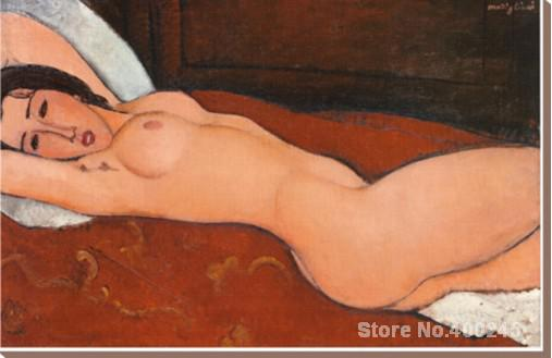 Reclining Nude II Amedeo Modigliani painting for sale oil on canvas Hand painted High quality