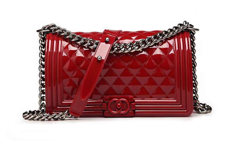 2017 Luxury Handbags Women Fashion Jelly Bag Candy Color Summer Beach Silicone Casual Clutch Bag