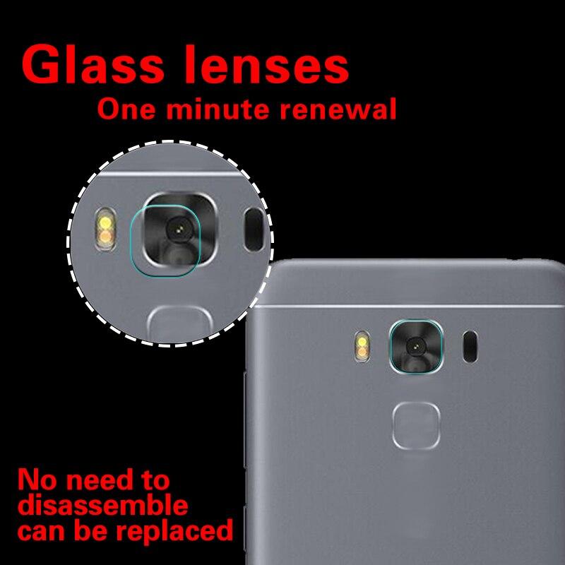 Back Camera Lens Tempered Glass Film For Asus Zenfone 3 Max Glass film for Asus ZC520TL ZC553KL Rear Camera Lens Protector Films