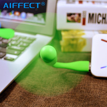 AIFFECT Usb Fan Mi Mini Creative Flexible Cool Hand Protable Cooling Fans For Laptop Powerbank USB Device Notebook
