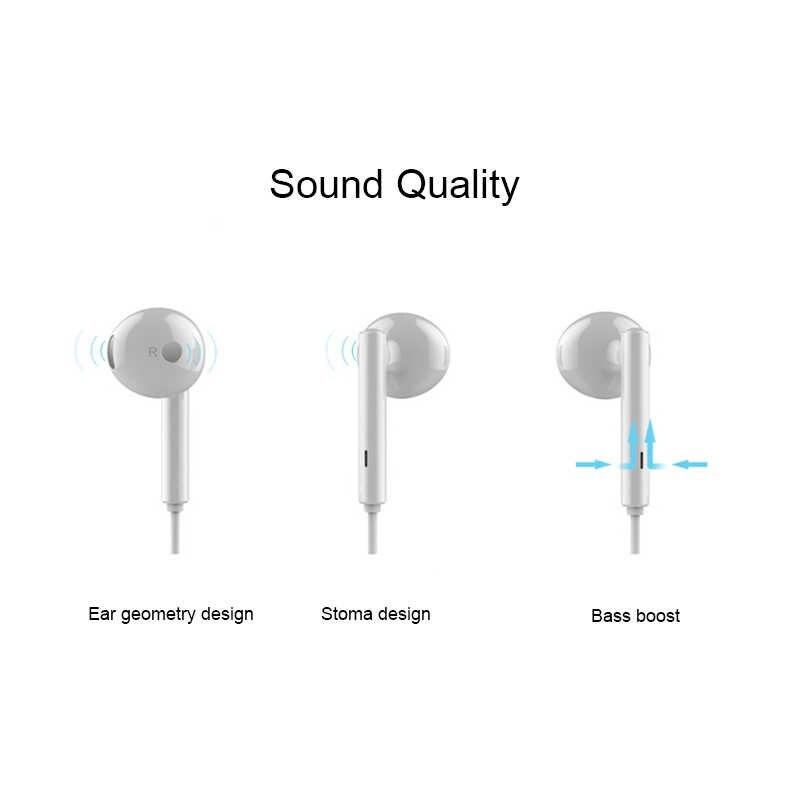 Huawei Honor AM115 słuchawki z głośnikiem konsola przewodowa 3.5mm podłącz zestaw słuchawkowy do Huawei P10 P9 P8 Mate9 Honor 8