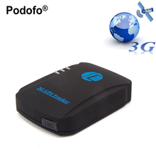 Podofo автомобиля GPS трекер tk207 трекер 3G WCDMA реального времени автотранспортными средствами автомобиль overspeed сигнализация geo-загородка GPS локатор