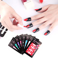 1Pc Nail Peel Off Tape Sticker Palisade U Shaped Gel Polish Painting Drawing Stamping Top Coat Cover Manicure Tool Multicolor