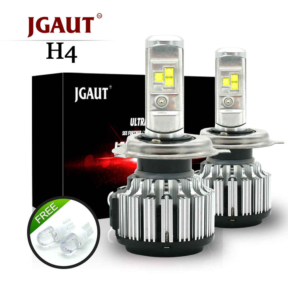 JGAUT T7 TURBO H4 Car LED Headlights H7 H1 H3 H11 880 H13 9005 9006 9012 80W 70W 8000lm 6000K Auto Bulb Automobiles Headlamp cnsunnylight car led headlight bulbs all in one h7 h11 h1 880 h3 9005 9006 9012 5202 72w 8500lm h4 h13 9007 high low beam lights