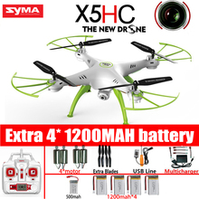 SYMA X5HC 4-CH 2.4 GHz 6-Axis RC Quadcopter Con Cámara de 2MP HD AUTO Flotando Headless Modo Drone RC Juguetes