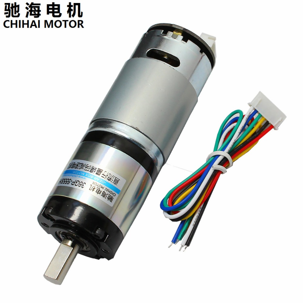 US $29.99 |Chihai Motor CHP 36GP 555 ABHLL DC Magnetic Holzer Encoder Planetary Deceleration Gear Motor 12.0V 24.0v -in DC Motor from Home Improvement on Aliexpress.com | Alibaba Group