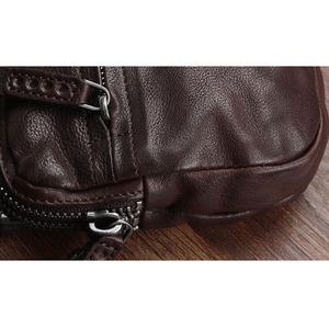 Image 3 - AETOO 가죽 지갑 멀티 카드 클러치 백 다목적 빈티지의 원래 손으로 만든 복고풍 가죽 핸드백 첫 번째 계층