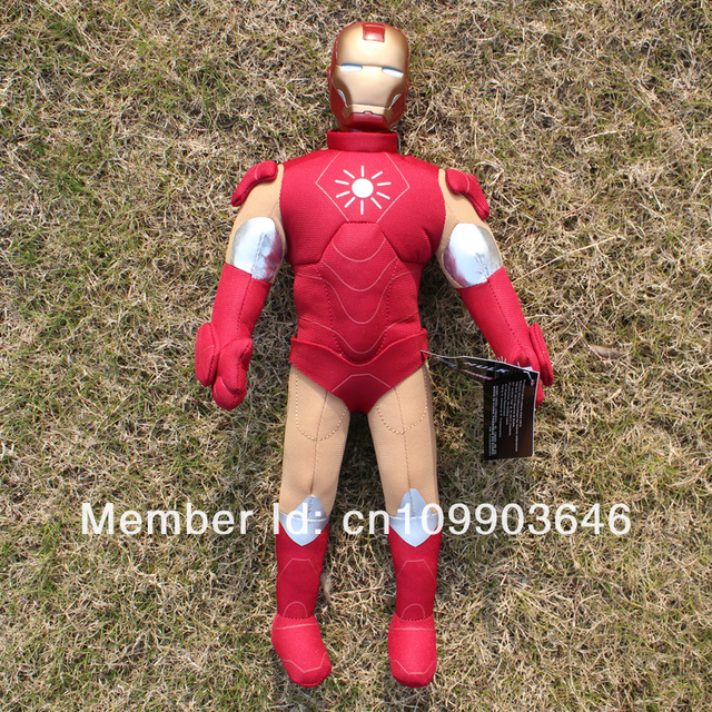 Free Shipping,Plush and stuffed Toy Iron Man Doll For Children Birthday Gifts,4 Styles Optional 40cm 1pc