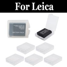 5pcs Battery Protective Storage Box Hard Plastic For leica V-Lux V-Lux 114 20 2 Typ 4 3 30 40 X Typ 113 X Vario X2 X-U Typ 113(China)