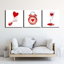 love still life Pictures Painting on Canvas Wall Art Modern Stretched and Framed Giclee Canvas Prints Poster for Living Room недорго, оригинальная цена