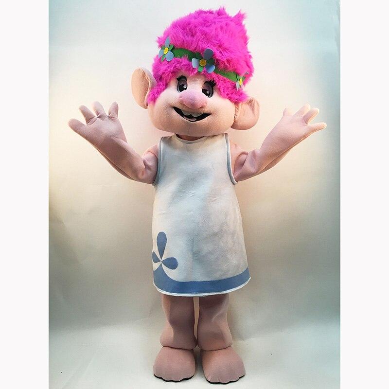 Nieuw Heet Mascottekostuum -Trolls-Complete Adult Outfit - Mascot - Carnavalskostuums - Foto 2