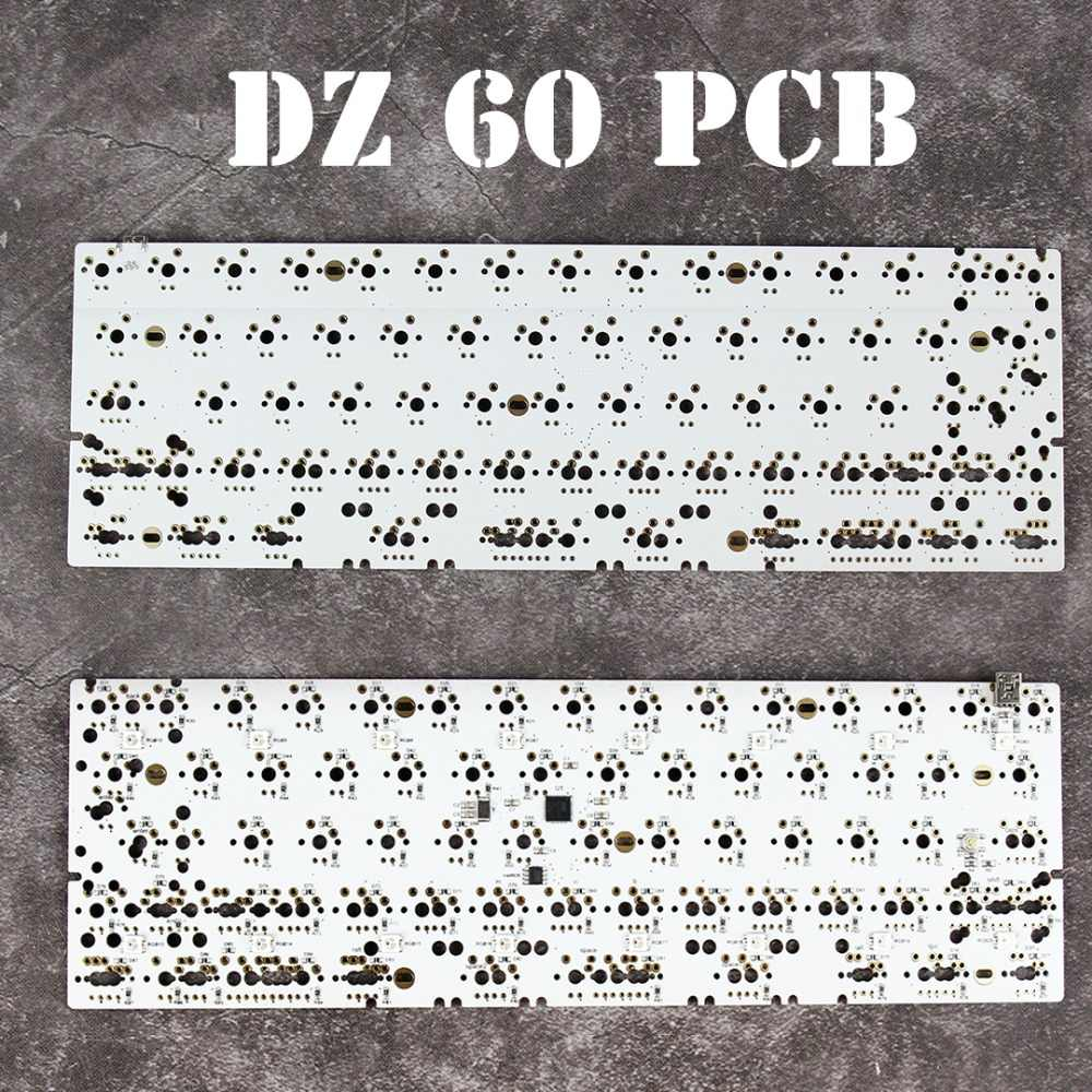 Detail Feedback Questions about DZ60 Custom mechanical keyboard PCB