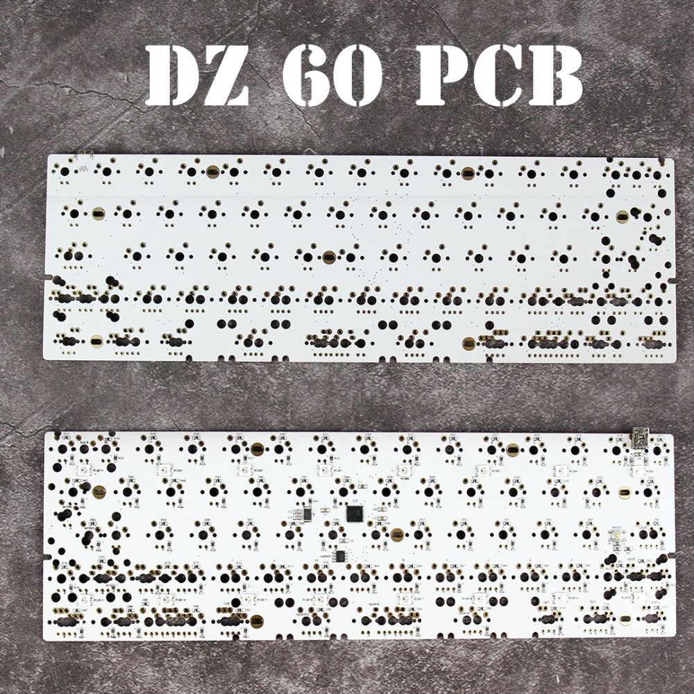 DZ60 Custom mechanical keyboard PCB 60% s