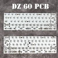 DZ60 Custom Mechanical Keyboard PCB 60 Keyboard Support Arrow Key