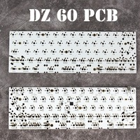 DZ60 Custom Mechanical Keyboard PCB 60 Keyboard Support Arrow Key