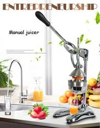 Exprimidor Manual de limón y naranja exprimidor de frutas cítricas de acero inoxidable