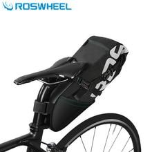 ROSWHEEL 2018 newest bike saddle bag bicycle bag pannier cycling mtb bike seat saddle bag accessories 8L waterproof bags