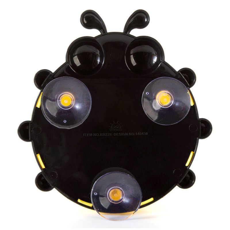 1 sztuk kreatywny Cartoon owad szczoteczka do zębów uchwyt ścienny Sucker biedronka szczoteczka do zębów pojemnik przyssawki Zestawy łazienkowe