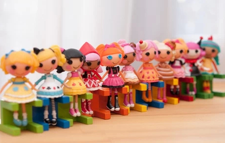 2016 New button eyes mini Lalaloopsy dolls, kid child birthday gift, play house toys, action collection figure girls brinquedos