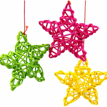 5Pcs/Lot 3 Size 9 Colors Star Sepak Takraw For Christmas Birthday Party & Home Wedding Party Decoration Rattan Ball