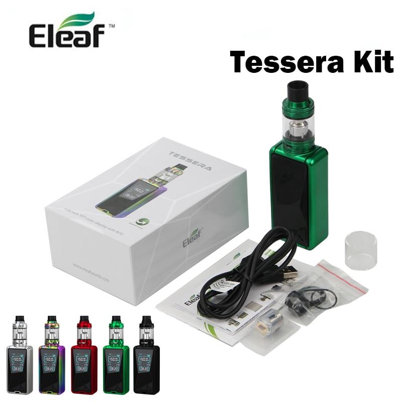 Eleaf Tessera 150 W zestaw parownik z 3400 mAh baterii i o pojemności 4 ml Eleaf vape papieros electronique w Zestawy elektronicznych papierosów od Elektronika użytkowa na AliExpress - 11.11_Double 11Singles' Day 1