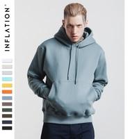 INFLATION 2016 Men Hip Hop Skateboard 400g 420g Hoodies Sweatshirt Brand Streetswear Photoes Printing Cotton Hoodie