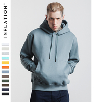 INFLATION 2016 Men Hip Hop Skateboard 400g 420g Hoodies Sweatshirt Brand Streetswear Photoes Printing Cotton Hoodie