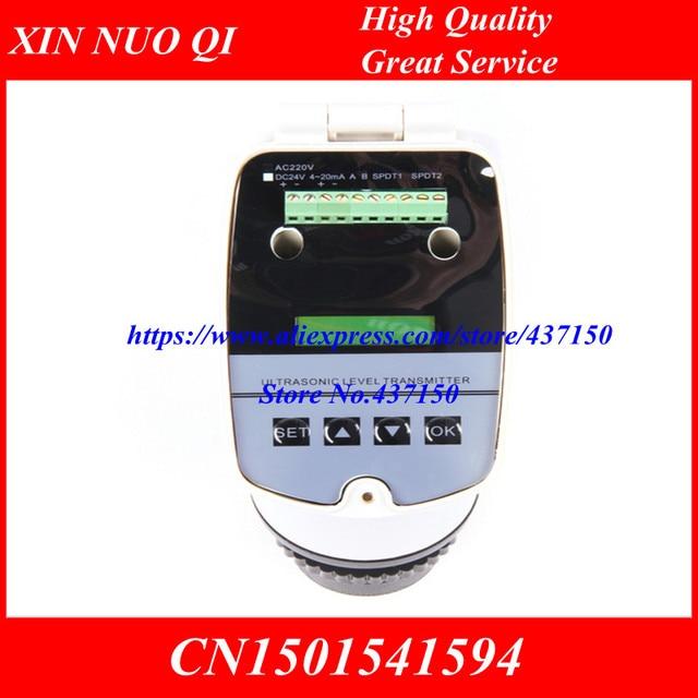4 20MA משולב מד רמה קולי קולי רמת מטר 1 m 2 m 3 m 5 m 20 m קולי מים רמת מד DC24V רמת חיישן