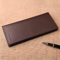 2014 New Men Wallets Famous Designer Brands High Quality Genuine Leather Wallet Men Luxury Long Wallets
