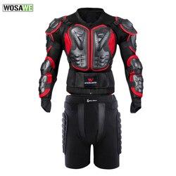 WOSAWE pełna ochrona telefonu kurtka motocyklowe etui ochronne Motocross Downhill Racing skrzynia ochrona tyłu Hip Guard