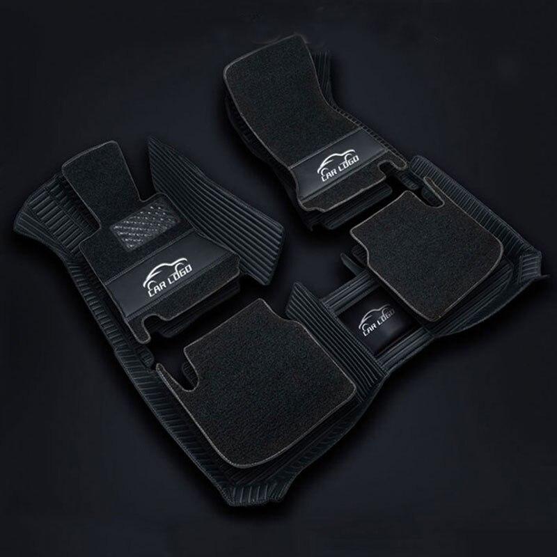 Tapis de sol 3D pour Mercedes Benz logo Viano ABCEGSR V W204 W205 E W211 W212 W213 Sclass CLA GLC ML GLA GLE GL GLK tapis de voiture - 5