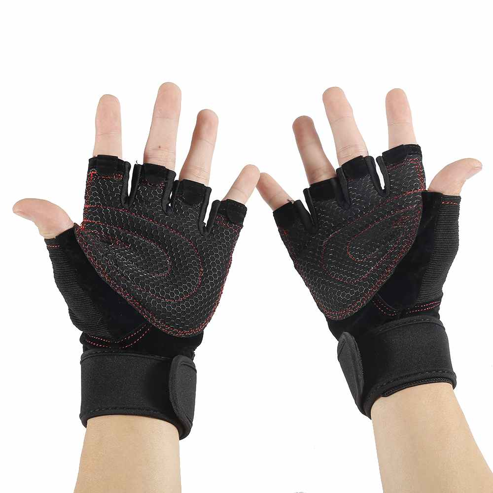Women Work Out Gloves Weight Lifting Gym Sport Exercise: Outdoor Gloves Tactical Gloves Gym Body Building Training