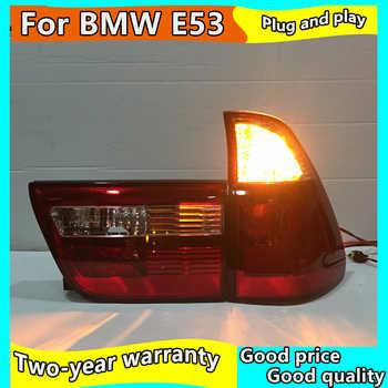 Car Styling Rear lamp for BMW X5 E53 LED Tail Light Rear Lamp 1998-2006 Year DRL+Brake lamp +Reverse lamp