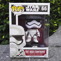 Funko Pop Star Wars First order Stormtrooper No.66 Vinyl Bobble Head PVC Action Figure Toys Collectible model toys for Children