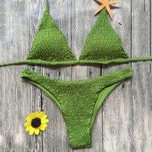 Bikini 2018 Bandeau Swimwear Women Swimsuit Push Up Bandage Swimming Bathing Suit Brizilian Bikini Set Maillot De Bain Femme
