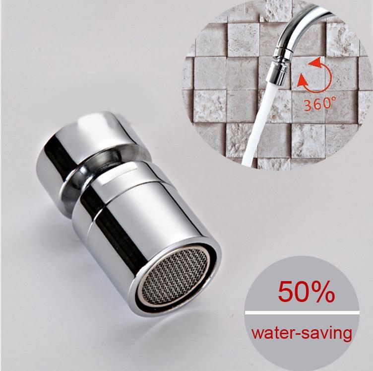 Chrome Finish Brass External Thread Kitchen Faucet Sprayer Attachment Bidet Faucet Aerator Female Water Saving Free Shipping