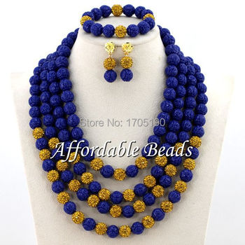 Free Shipping Nigerian Coral Beads Jewelry Set Hot Selling Bridal Costume Jewelry Set New Item CN080