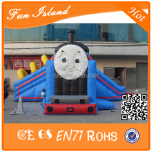 Thomas the tank engine inflatable bouncer, inflatable bouncer thomas train with slide