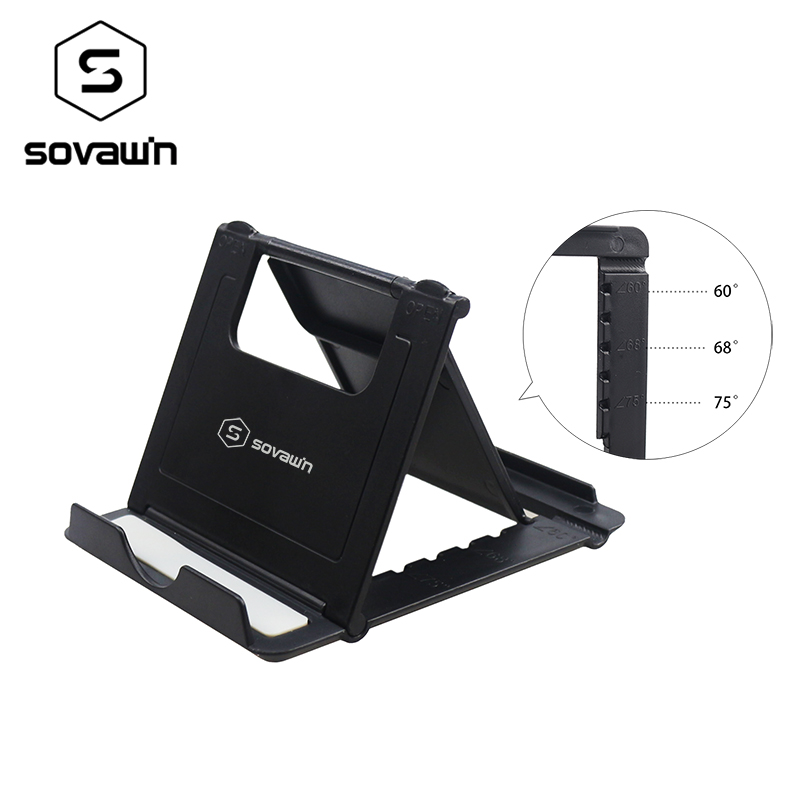 SOVAWIN Multi-angle Adjust Portable Lazy Holder Mount Universal Foldable Desk