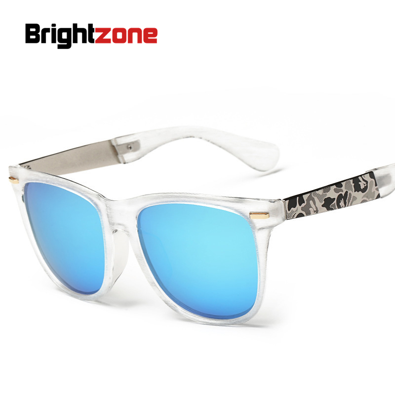 New Wire Drawing Polarized Light Sunglasses Colorful Box Sunglasses ...