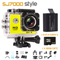 GOLDFOX SJ7000 Style Wifi Video Camera 1080P 12MP Sport Mini Camera 30m Waterproof Sports DV Recorder Extra Battery 32GB Card