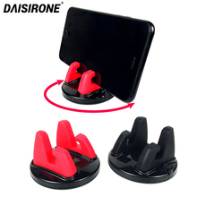 Car Dashboard Desk Anti Skid Phone Holder Stand 360 Degree Rotation Mobile Phone Mount Bracket Cell