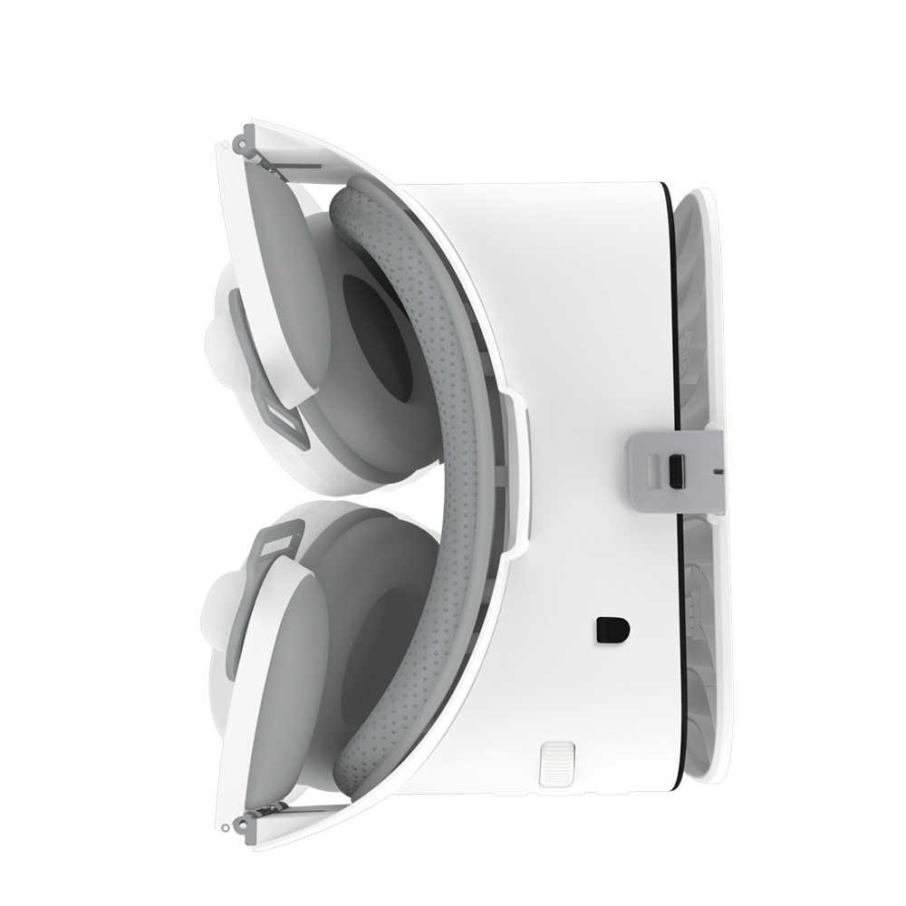 2019 новые Bobo vr Z6 VR очки Беспроводной Bluetooth наушники Очки виртуальной реальности Android IOS дистанционного реальности VR 3D картонные очки