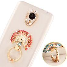 Bling Silicon Ultra Thin Case For Sony Xperia XA2 XA1 Plus L2 Transparent Soft TPU Phone Cover Ring Holder Stand