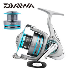 Original DAIWA PROCASTER A Spinning fishing reel 2000/2500/3000/4000A 7BB Carretilha Moulinet Peche saltwater +Spare metal spool(China)
