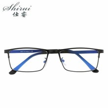 Mens Womens Business Glasses Clear Lens Blue Film Eyewear Unisex Retro Eyeglasses Spectacles Hot Sale 2018 Newest